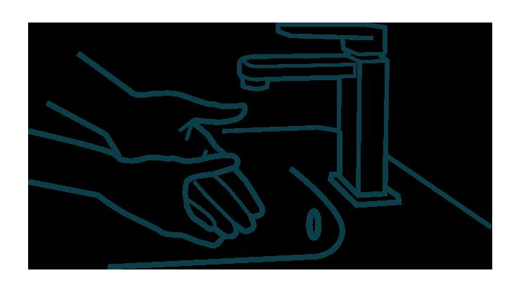 bild på handtvätt
