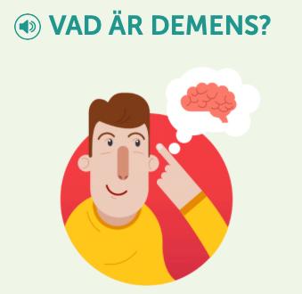 bild från webbsidan Vad är demens